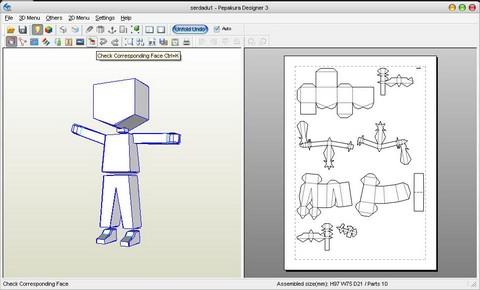 Mendesain 3d papercraft fish all light kbpl sedangkan aplikasi grafis seperti adobe photoshop adobe illustrator dan corel draw digunakan untuk memberikan tekstur berupa gambar pada pola yang sudah malvernweather Choice Image