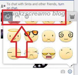 Cara Menggunakan Facebook Sticker Untuk Chat Di PC/Komputer - AGUNKz