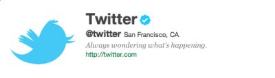 Tentang Verified Account Di Twitter