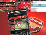 Theme Blackberry Arsenal Free Download