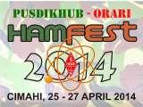 PUSDIKHUB - ORARI HAM FESTIVAL 2014